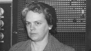 En kvinna som heter Gunvor Nordström.