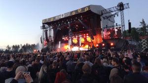 Ramsmtein live i Vanda 9.6. 2017.