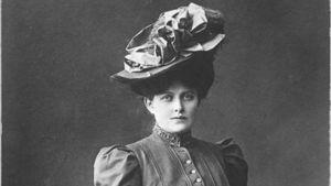 Sopraano Hanna Granfelt 1900-luvun alussa valokuvattuna.