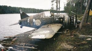 Kansainvälinen ryhmä etsii miljoonien arvoista vanhaa hävittäjäkonetta, Brewsteria, oligarkkien Venäjältä.