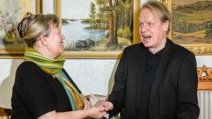 Ann-Sophie och Peter Sandström