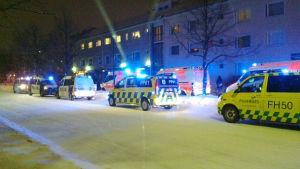 Polisbilar i uleåborg