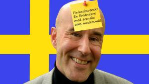 Finlandssvensk i Sverige, montage.