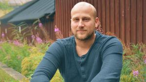 Juniortränare Niklas Malm har spelat innebandy i 22 år.