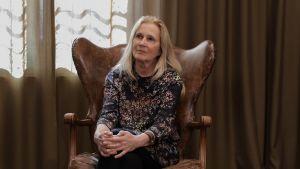 Den svenska författaren Katarina Frostenson.