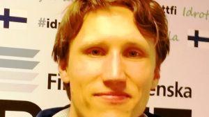 Johan Nordmyr, projektledare för Talangjakten