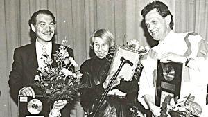 Dennis Livson, Tove Jansson och Benny Törnroos