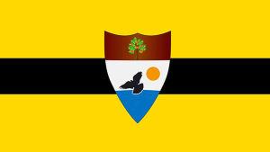 Liberlands flagga.