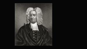 Porträtt av Cotton Mather.