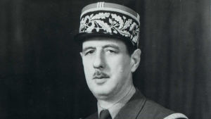 General Cahrles de Gaulle.