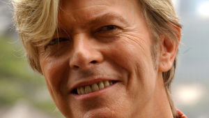 Singer David Bowie in Sydney 16 February 2004 where he gave a press conference in advance of his Australian tour 'Reality', which will be his first Australian tour in sixteen years.