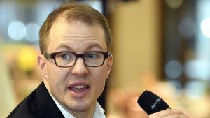 Lauri Nurmi, politisk redaktör vid Lännen Media.