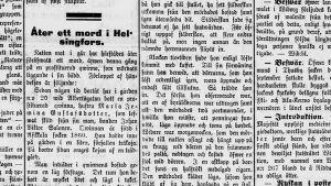Den 9 oktober 1890 berättade Hufvudstadsbladet att ytterligare en prostituerad kvinna hade hittats mördad.