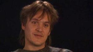 """Mikko """"Pantse"""" Syrjä Axa Sorjasen haastattelussa vuonna 1995."""