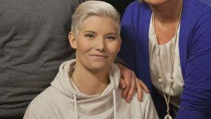 Heidi Foxell gästade tidigare också Yleprogammet Flinkkilä & Tastula