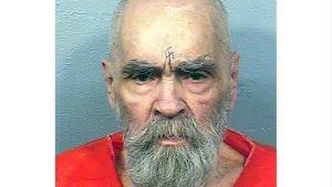 Charles Manson den 14 augusti 2017.