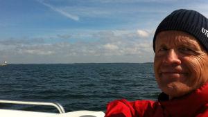 Olli Kortekangas viihtyy merellä