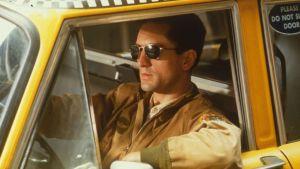 Robert de Niro i filmen Taxi Driver 1976.