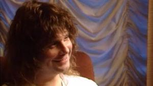 Laulaja Ozzy Osbourne Rockstop-ohjelman haastattelussa.