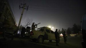 Säkerhetsstyrkor i Kabul