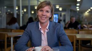 Svenska folkpartiets ordförande Anna-Maja Henriksson