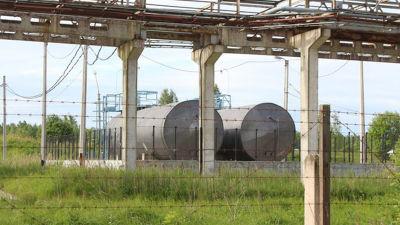 Krasnyj bor, nordvästra Rysslands enda anläggning för problemavfall har tvingats stänga.