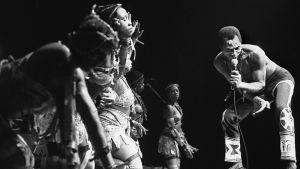 Fela Kuti vare en nigeriansk musiker.