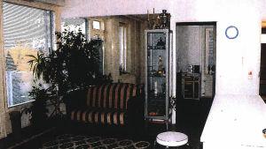 Lägenheten i Nordsjö där Volkan Ünsal blev mördad.