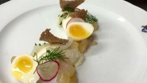 Ägg och fisk