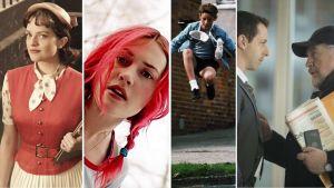 Collage av tv-serier och filmer