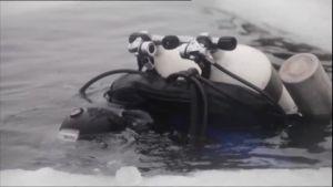 Uutisvideot: Vienanmerellä tehtiin jääsukellus 102 metrin syvyyteen