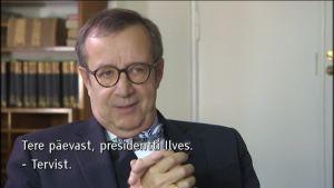 Uutisvideot: Viron presidentti Toomas Hendrik Ilves Ylen haastattelussa