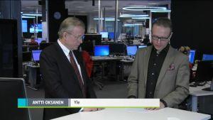 Uutisvideot: Patrian toimitusjohtaja Heikki Allonen kommentoi Patria-kauppaa