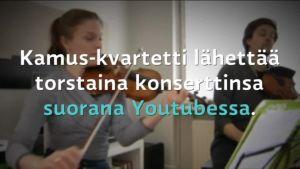 Uutisvideot: Palkittu jousikvartetti vie klassisen musiikin uusiin kanaviin