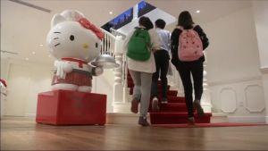 Uutisvideot: Shanghaissa aukesi Hello Kitty -ravintola