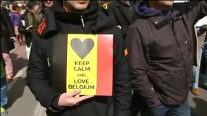 Uutisvideot: Terrorismia vastustettiin marssilla Brysselissä