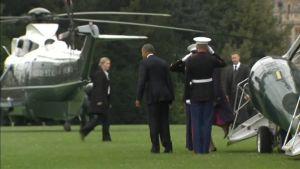 Uutisvideot: Obama syö lounasta kuningatar Elisabetin kanssa