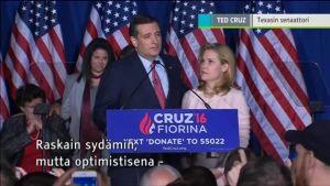 Uutisvideot: Cruz luovutti presidenttikisan