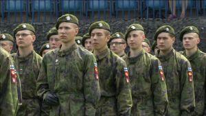 Uutisvideot: Lippujuhlapäivän paraati - Katselmus