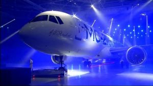 Uutisvideot: Venäjä esitteli uuden matkustajalentokoneen