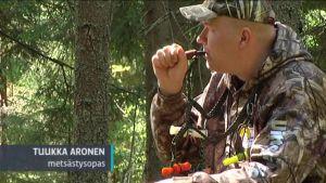 Uutisvideot: Eläimiä metsästetään äänellä houkuttelemalla