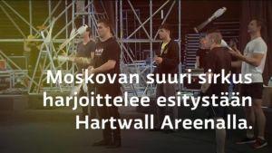 Uutisvideot: Moskovan suuri sirkus Helsingissä