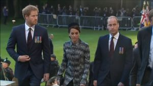 Uutisvideot: Prinssit William ja Harry Sommen taistelun muistojuhlassa
