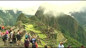 Uutisvideot: Turistit roskaavat Machu Picchua