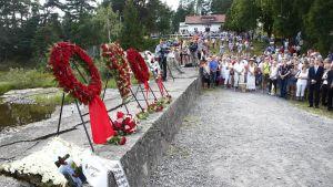 Norjan joukkomurhasta viisi vuotta – suora Utøyan muistotilaisuudesta