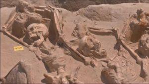 Uutisvideot: Ateenasta löytyi kahlehdittuja luurankoja
