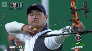 Rion olympialaiset: Etelä-Korea näytöstyyliin jousiammunnan olympiakultaan