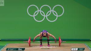Rion olympialaiset: Anni Vuohijoen yhteistulos 192 kiloa
