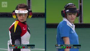 Rion olympialaiset: Naisten pistoolin finaali todellinen trilleri!