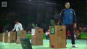 Rion olympialaiset: Miesten 50 m pistoolin loppuratkaisu